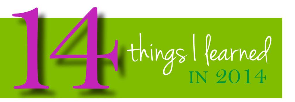 14 things header