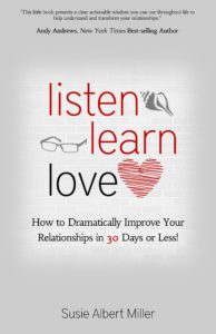 Review of <i>Listen, Learn, Love</i> by Susie Albert Miller